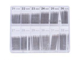 100 DARABOS STIFTKÉSZLET (21-32mm)