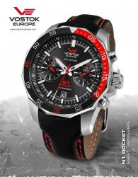 VOSTOK EUROPE N1 ROCKET CHRONO 6S21/2255295