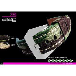 Diloy P. Vacuno vászon óraszíj, zöld, 22mm