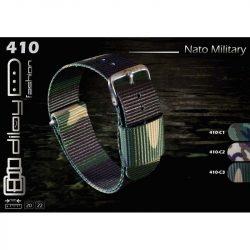 Diloy Nato óraszíj, terepmintás C1, 22mm