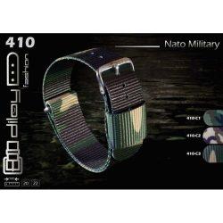 Diloy Nato óraszíj, terepmintás C2, 22mm