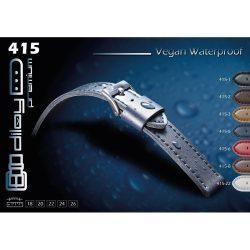 Diloy Vegan Waterproof óraszíj, sötétbarna