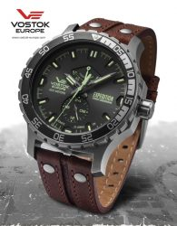 VOSTOK EUROPE EXPEDITION EVEREST YN84-597A543